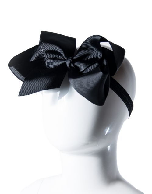 Elegantna Mašna od Ripsa (crna)
