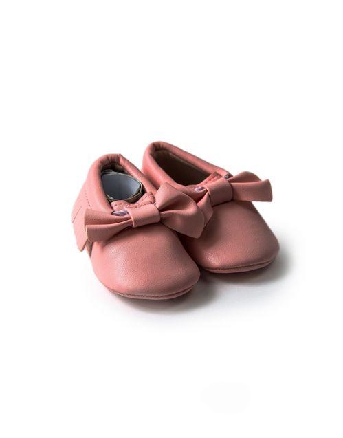 Mokasinice Bebica damica (svetlo roze)